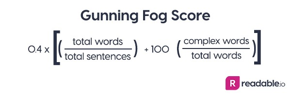 Readability and the Gunning Fog Index – Readable