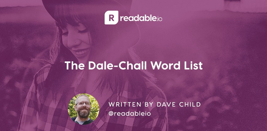 the dale chall word list