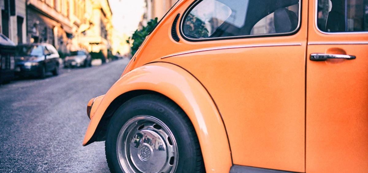 old school VW Beatle