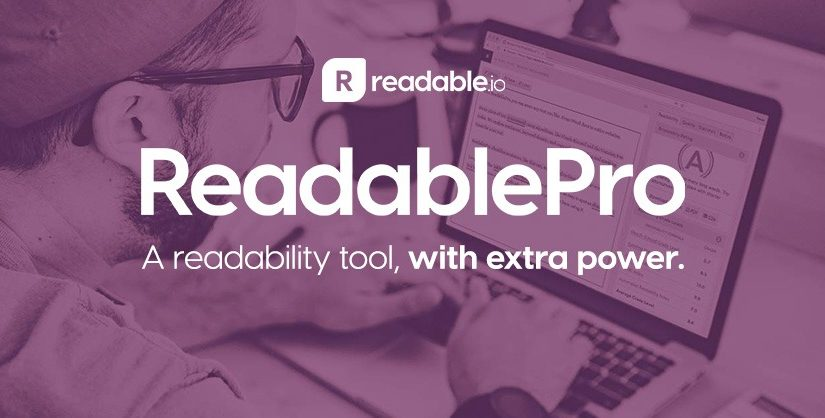 ReadablePro, A readability tool, with extra power.