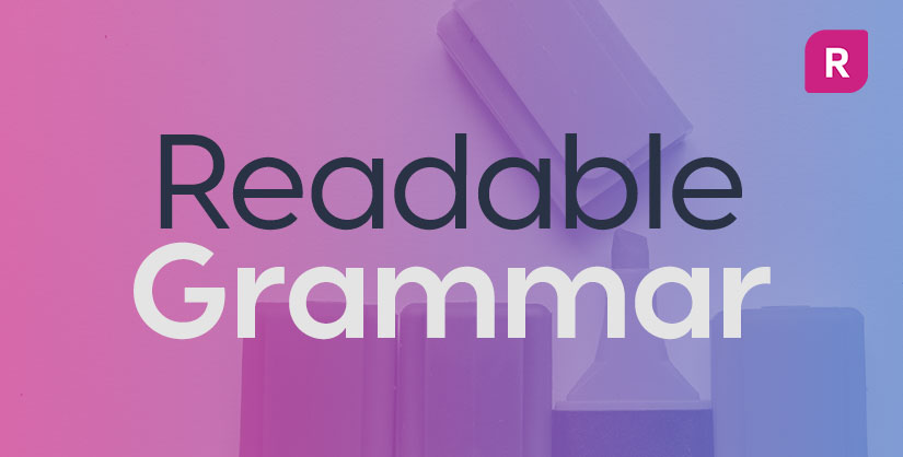Readable grammar text overlay on highlighter pens | Readable, spelling and grammar, readability checker