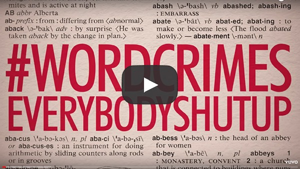 Weird Al Yankovic's parody word crimes