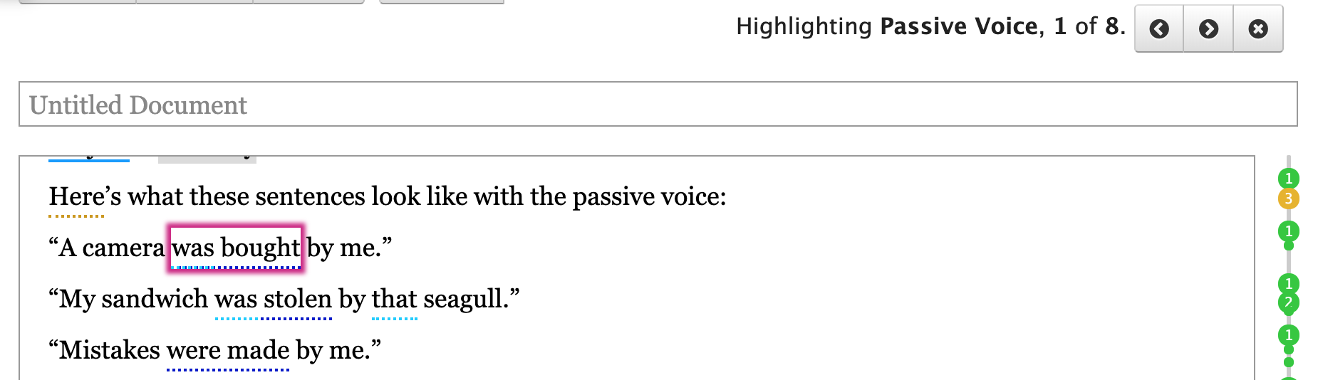 Passive voice detector | Readable, free readability test