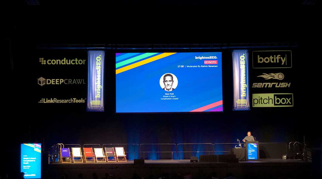 Dave Trott BrightonSEO keynote 2019 | Readable, free readability test for copywriting