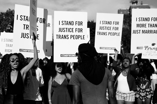 Justice for trans people
