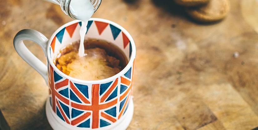 Union Jack mug of tea | Readable free readability test
